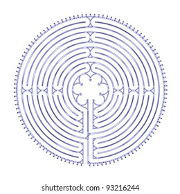 Chartres Peace Labyrinth
