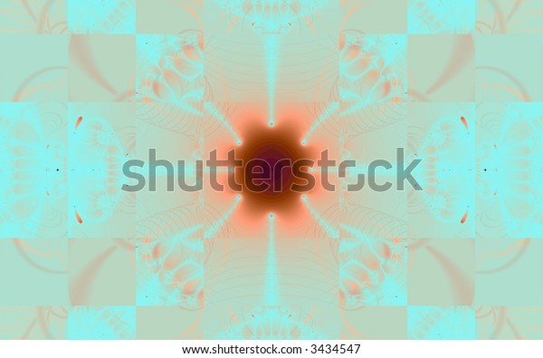checkerboard lace background