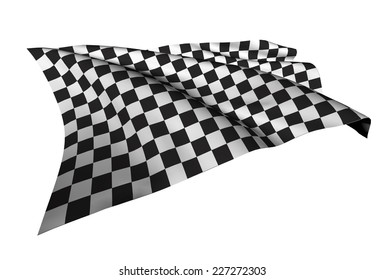 Checkered Flags (racing flags) illustration