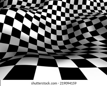 Schachte Textur, 3D-Hintergrund