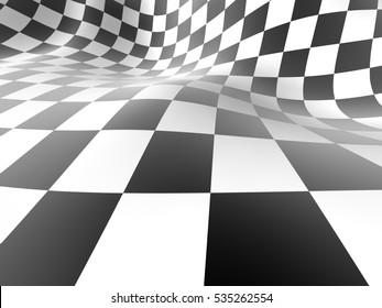 Checkered texture background