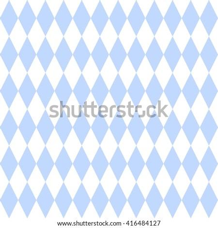 Checkered Tile Pattern Blue White Wallpaper Stock Illustration