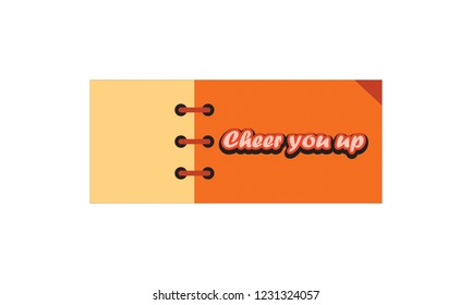 302 A Note To Cheer You A Note To Cheer You Up Images Royalty Free