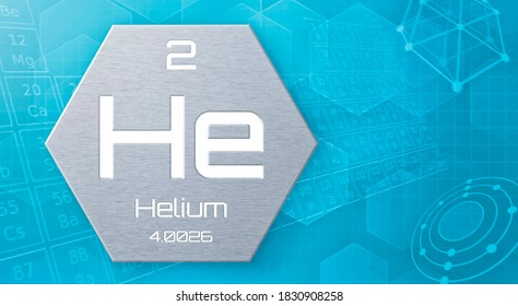 Chemical element of the periodic table - Helium