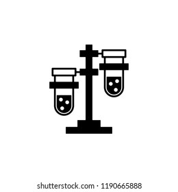chemical, test, tubes icon. Element of genetics and bioengineering icon. Premium quality graphic design icon. Signs and symbols collection icon for websites, web design, mobile app
