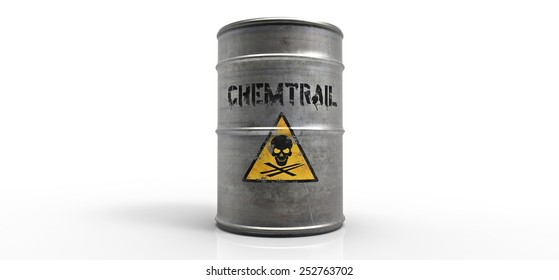 Chemtrail barrel