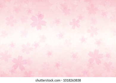 cherry blossom abstract and vintage pink paper background