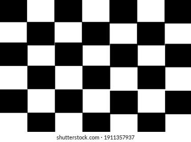 Chess black and white box pattern design