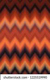Chevron zigzag wave red, orange flame fire pattern abstract art background, apricot, bittersweet, cantaloupe, carrot, coral, peach, salmon, tangerine titian red-yellow color trends