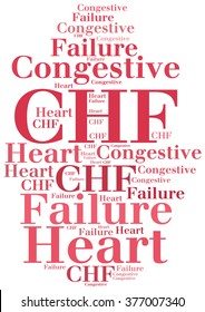 CHF - Congestive Heart Failure. Disease abbreviation.
