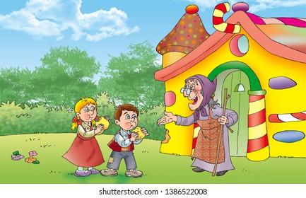 children fairy tales hansel and gretel