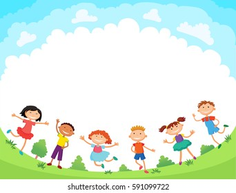 Cartoon Kids Images Stock Photos Vectors Shutterstock
