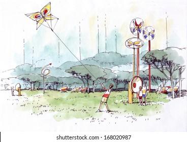 children's amusement park-1