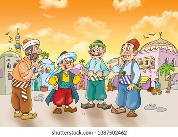 children's fairy tale sinbad