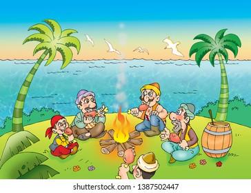 children's fairy tale sinbad sea