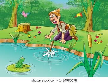 children's fairy tales Golden Axe
