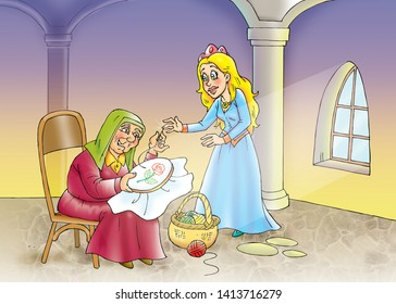 children's fairy tales sleeping beauty