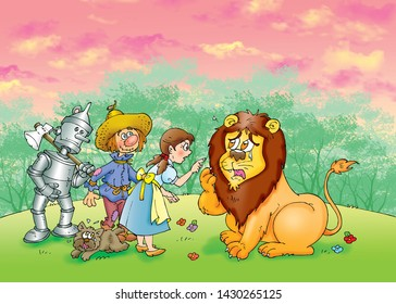 children's fairy tales wizard of oz