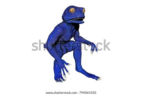 Chimera Frogs 3d Rendering Stock Illustration 794065420