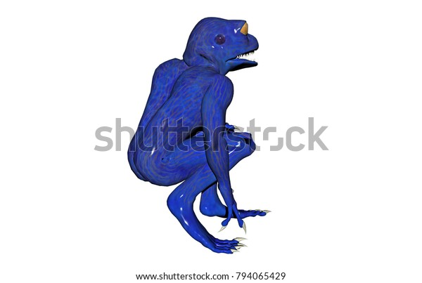 Chimera Frogs 3d Rendering Stock Illustration 794065429