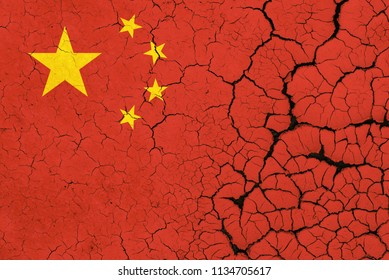 China Flag Crisis