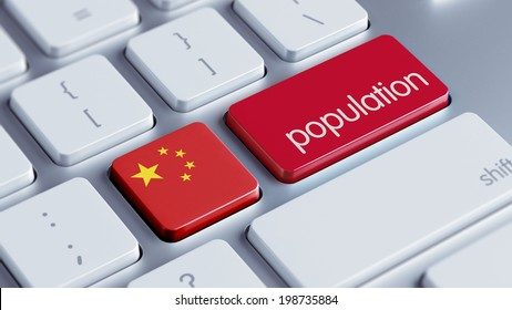 China High Resolution Population Concept