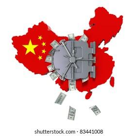China's dollar reserves