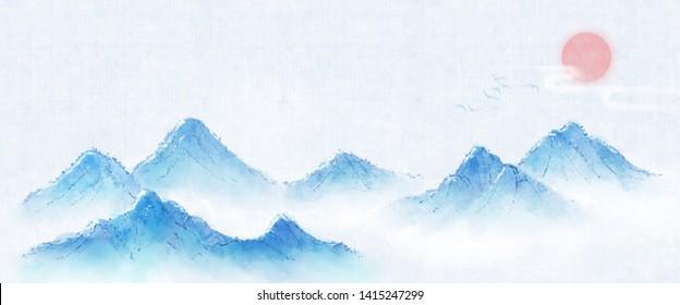 fbf9631de Chinese Mountain Images, Stock Photos & Vectors | Shutterstock