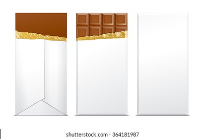 Chocolate blank package