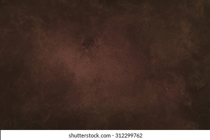 A chocolate brown background with marbled texture.