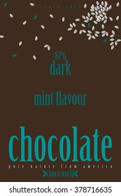 Chocolate or some other food cover design
