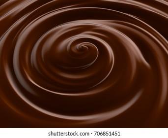 Chocolate.3D illustration