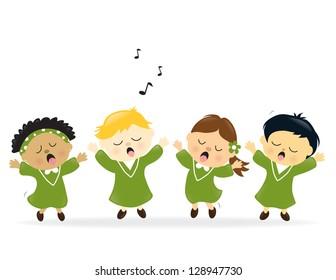 Choir singing praise - Jpeg