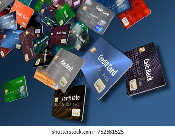 Royalty Free Stock Illustration of Choosing Right Credit