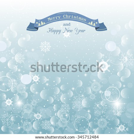 christmas abstract snowy background new year background for greeting card menu banner