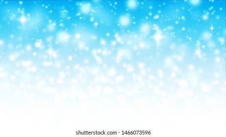 Christmas background abstract blue and white