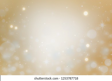 Christmas background concept design of white snowflake and snow