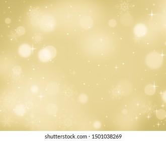 Christmas Background Gold. Holiday Background