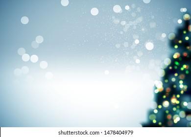christmas background shine blur template