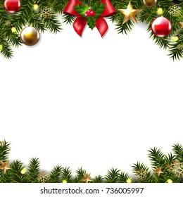 Christmas Border Images, Stock Photos & Vectors | Shutterstock