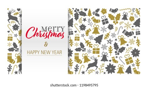 christmas card with a greeting text