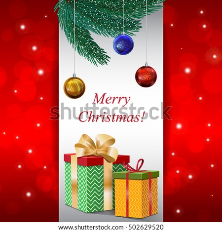 christmas card happy new year background for winter sales and promotions
