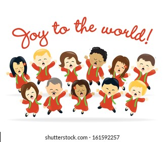 Christmas choir - Jpeg