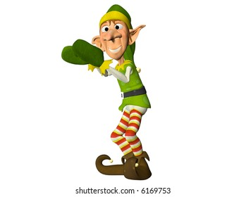 Christmas Elf clapping