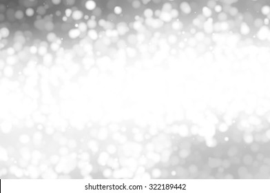 Christmas grey background. the winter background, falling snowflakes