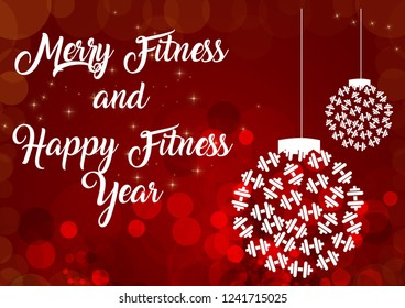 Christmas and Happy New year fitness motivation