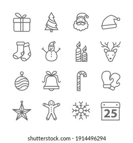 Christmas icon set is so match for your website if the theme abaout christmas