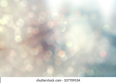 christmas lights. Christmas soft  Bokeh background
