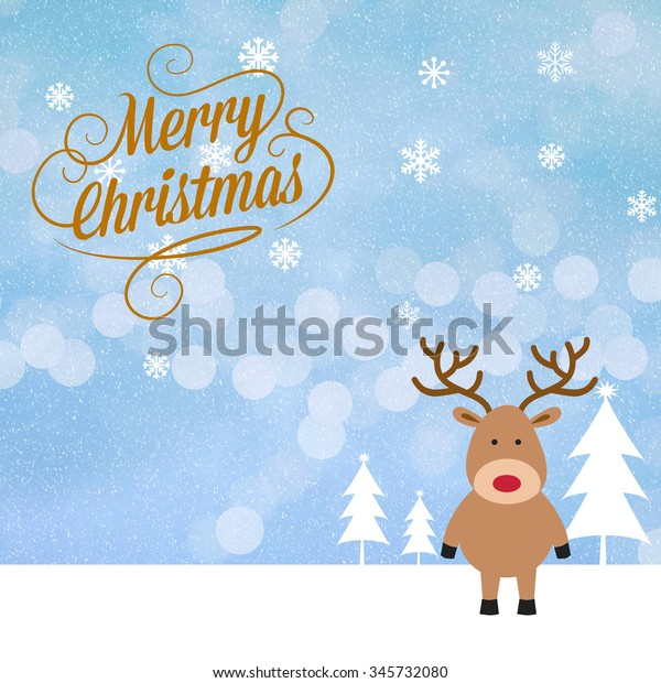 Christmas and new year wish card