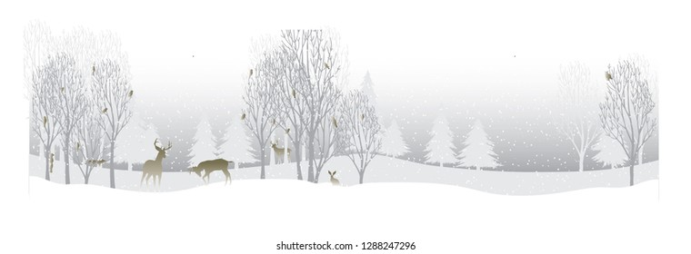 christmas poster and flyer , snow nature in beautiful background , snow image , christmas nature